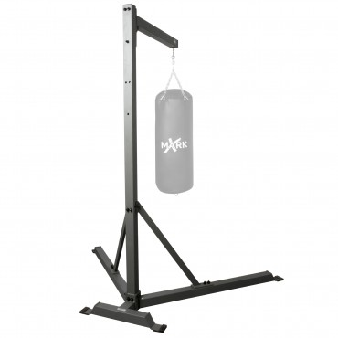 "XMark Fitness Rock Solid Heavy Bag Stand Measuring 94"" High Accommodating A 125 lb. Heavy Bag XM-2845"